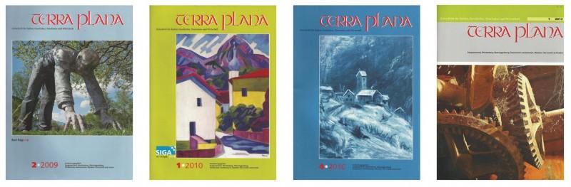 Veröffentlichungen in der Kulturzeitschrift Terra plana